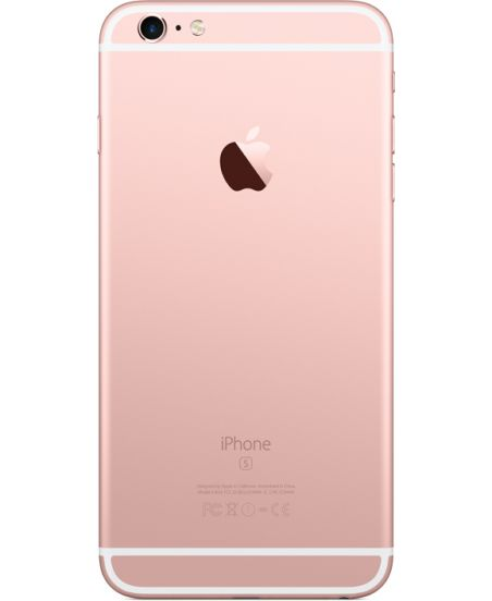 iPhone 6s Plus 128 ГБ Розовый задняя крышка