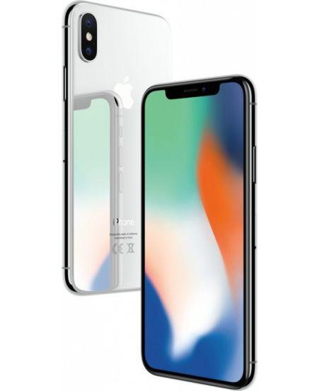 iPhone X 256 ГБ Серебристый задняя крышка и дисплей