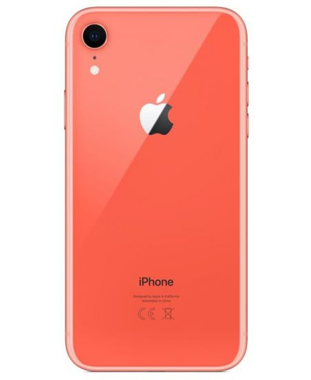 iPhone XR 256 ГБ коралловый задняя крышка